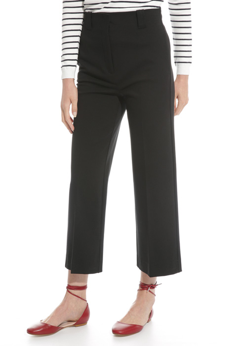 Jersey stitch trousers Diffusione Tessile