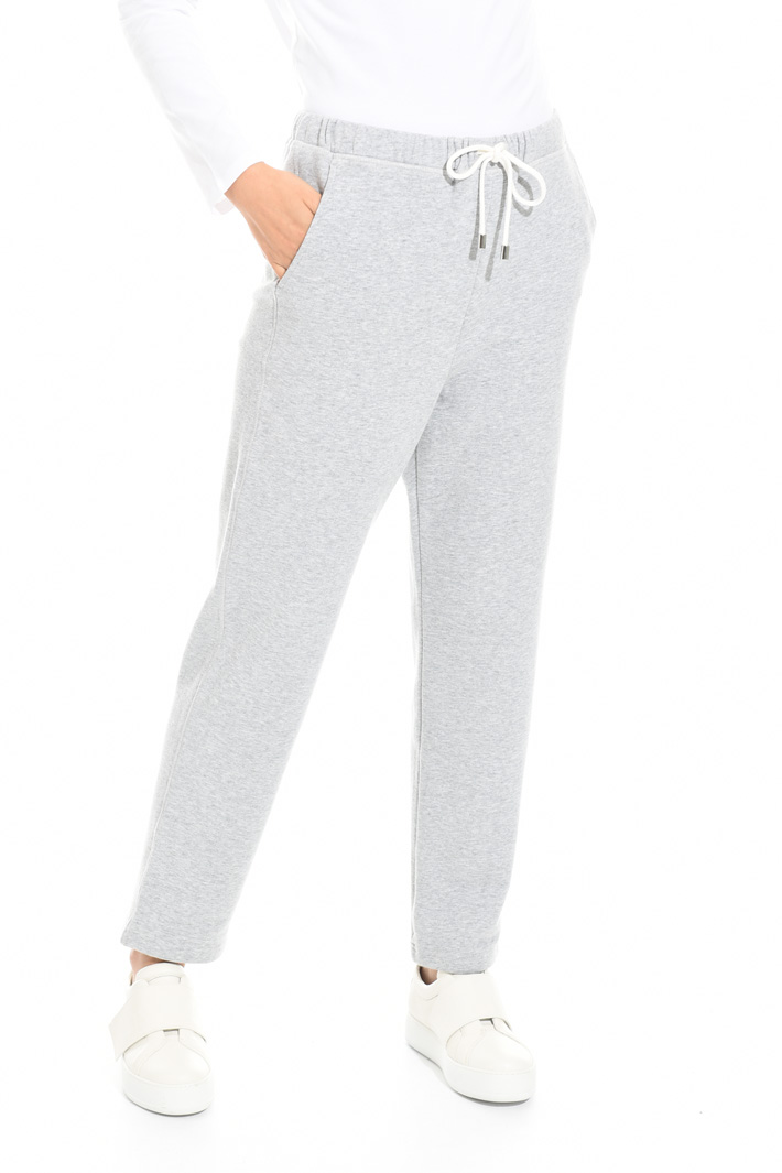 Fleece jogging-style trousers Intrend