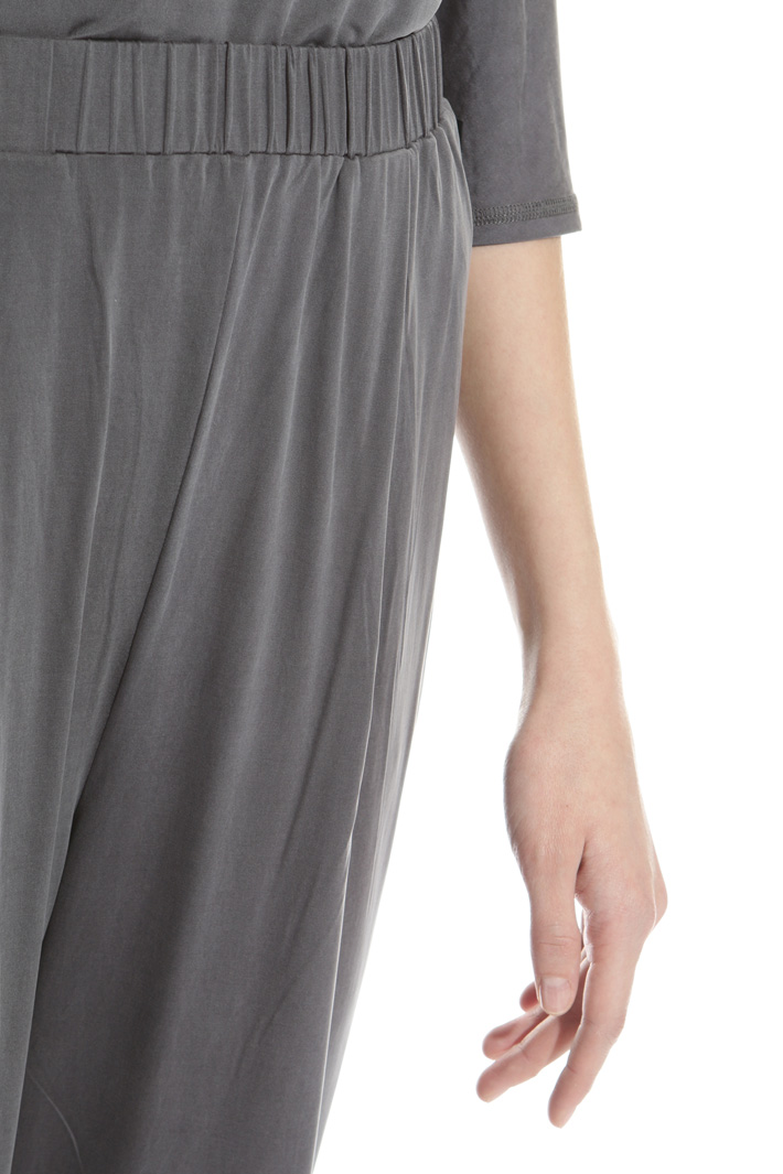 Cupro jersey trousers Intrend