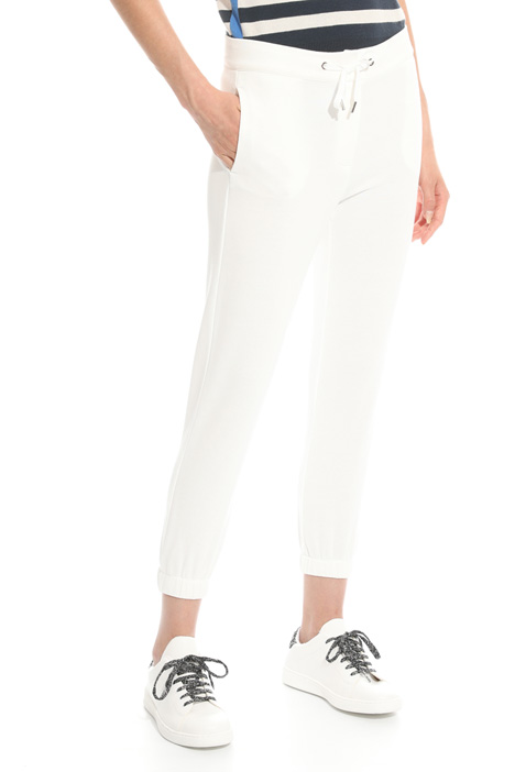 Fleece jogging-style pants Diffusione Tessile