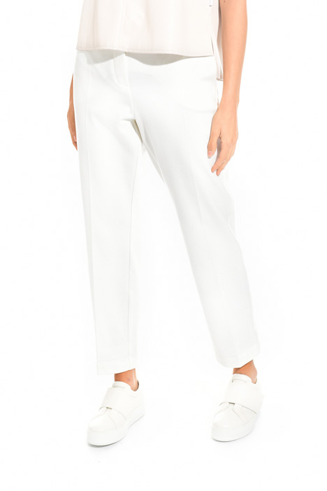 Diagonal weave trousers Intrend