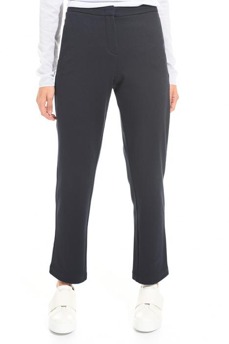 Diagonal weave trousers Diffusione Tessile
