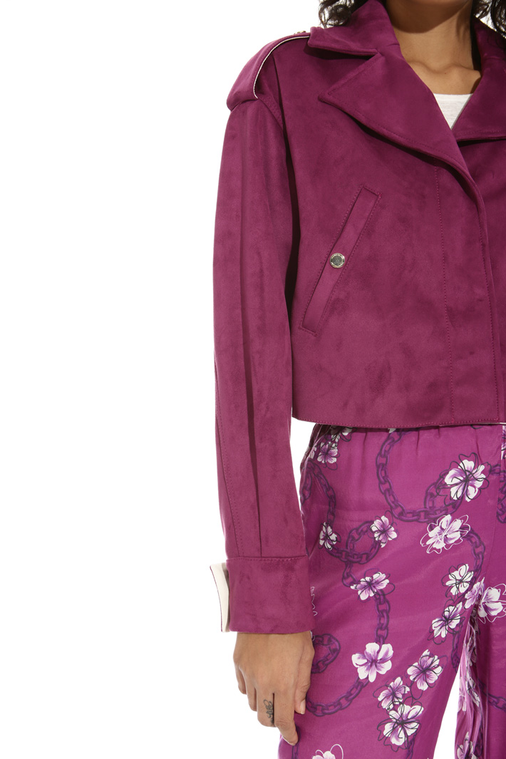 Suede-effect jacket Intrend