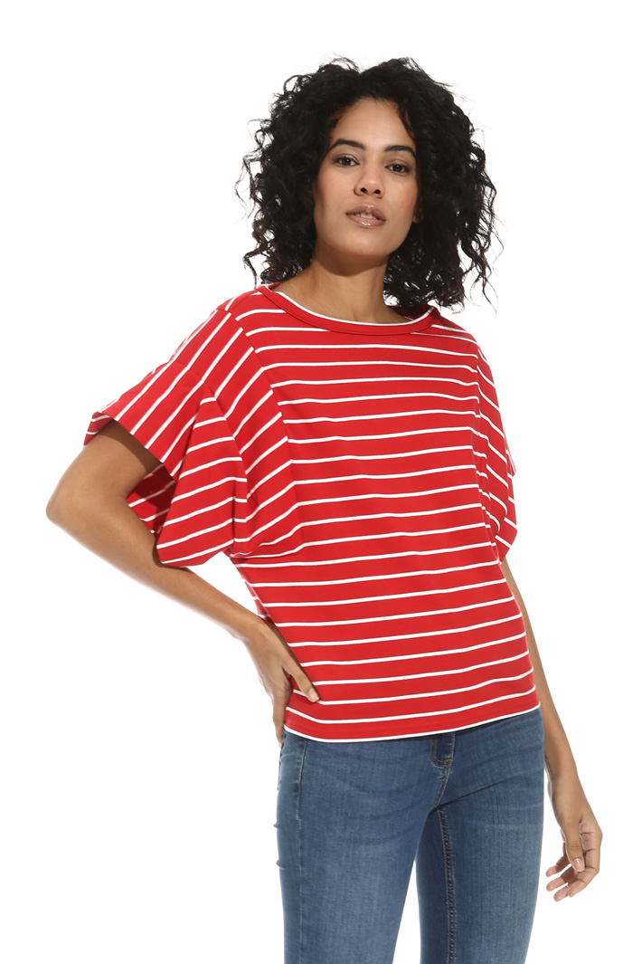T-shirt in jersey pesante Intrend