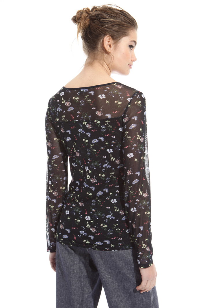 T-shirt in tulle Intrend