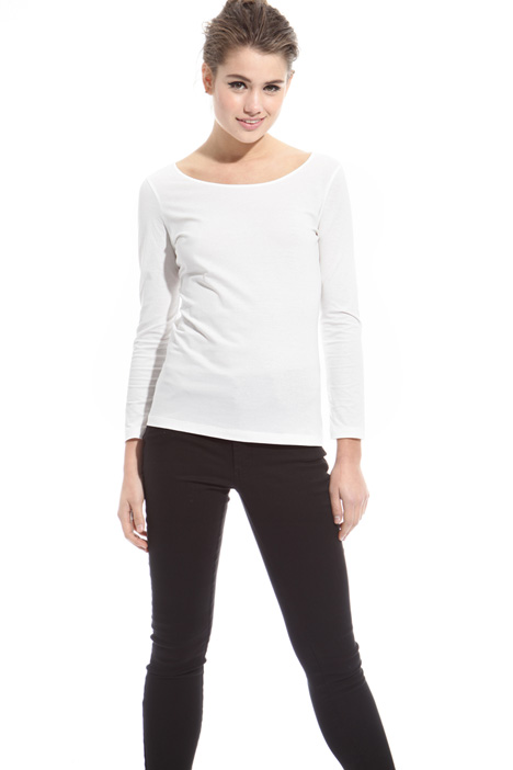Jersey crepe T-shirt Intrend