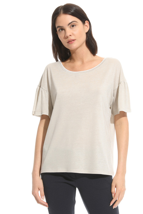 T-shirt con maniche corolla