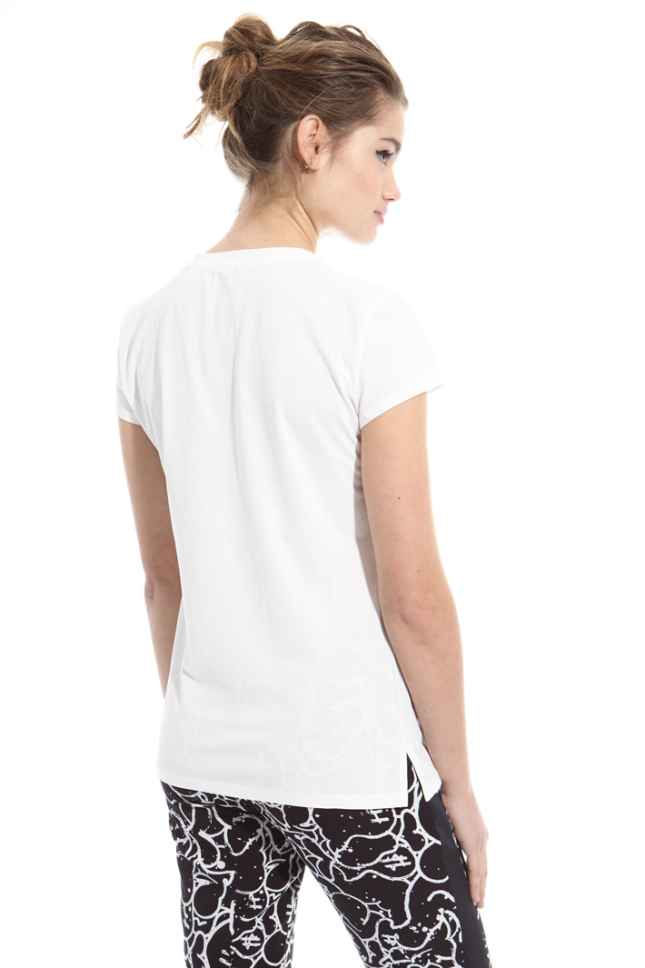 T-shirt in cotone crepe Intrend