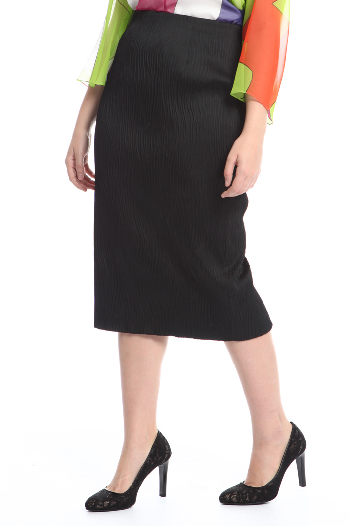 Jacquard pencil skirt Diffusione Tessile