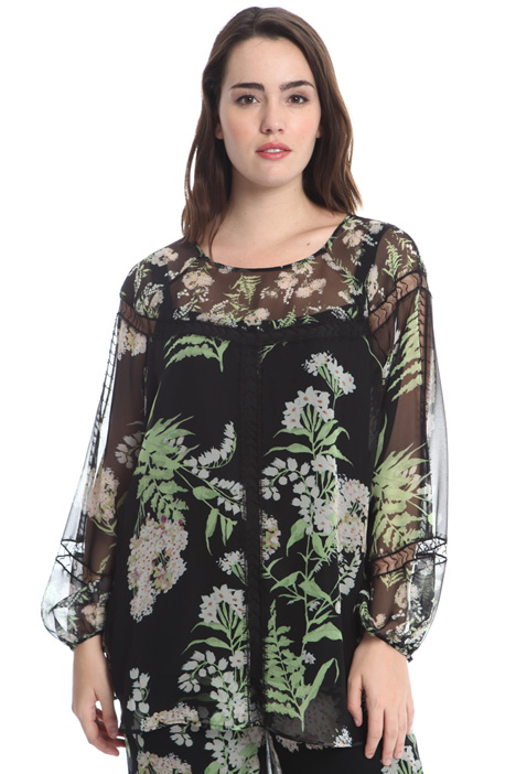 Silk georgette tunic Intrend