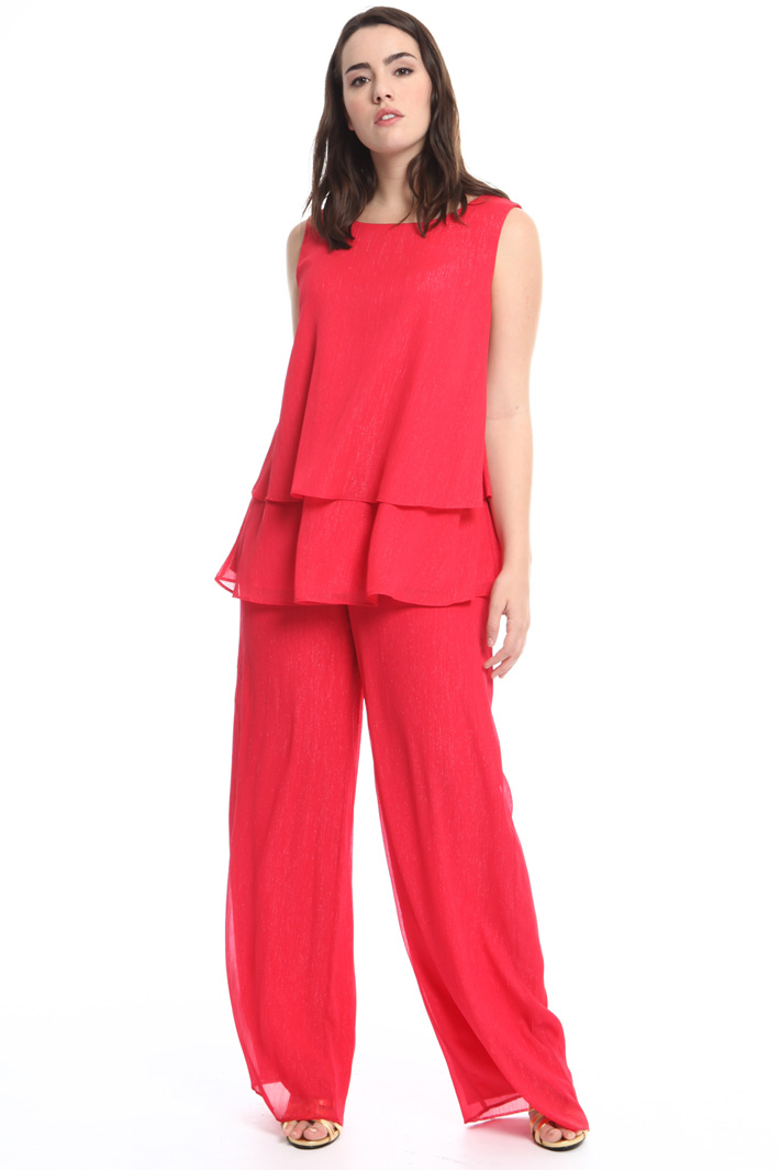 Pantalone palazzo in creponne Intrend