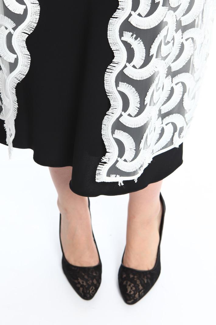 Macramé vest Diffusione Tessile