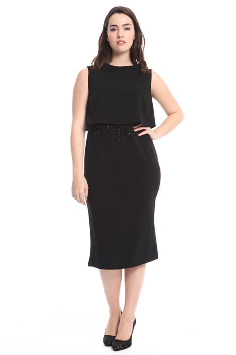Embroidered sheath dress Diffusione Tessile