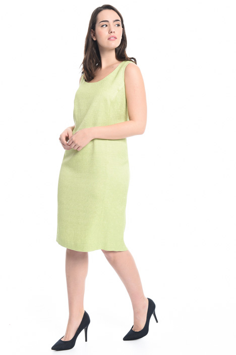 Interwoven fabric sheath dress Intrend