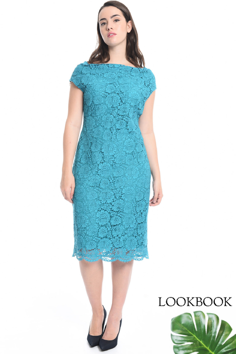 Lace sheath dress Diffusione Tessile