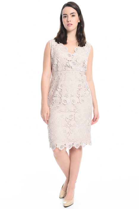 Macramé sheath dress Diffusione Tessile