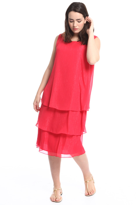 Layered creponne dress Diffusione Tessile