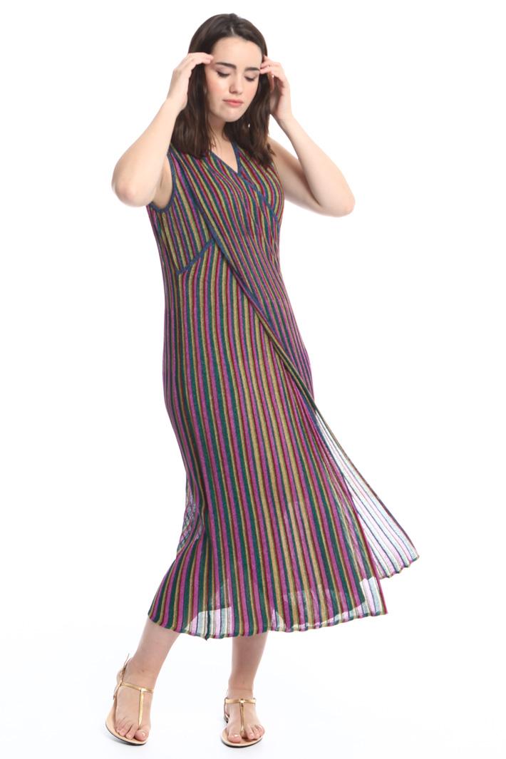 Long lamé dress Diffusione Tessile