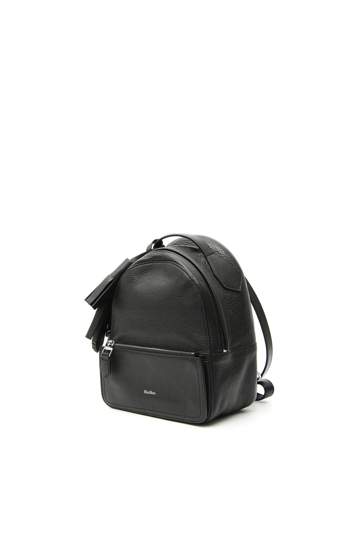 Genuine leather backpack Diffusione Tessile