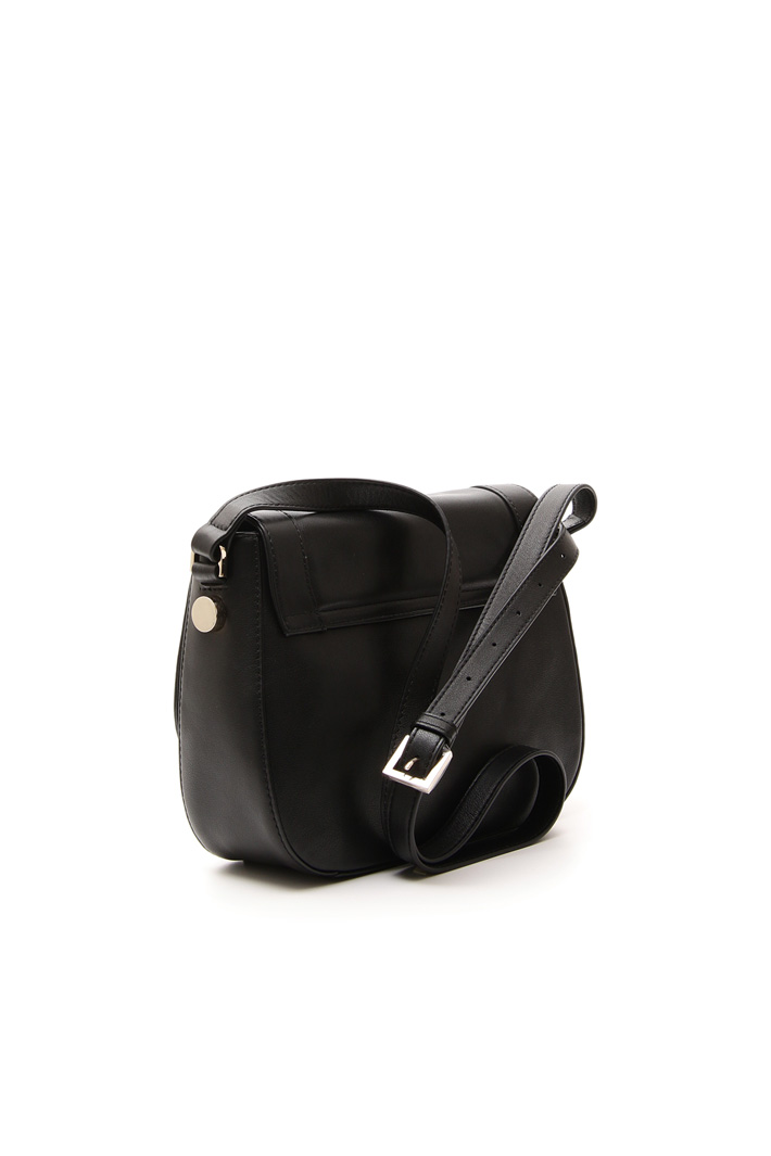 Leather bag with strap Diffusione Tessile