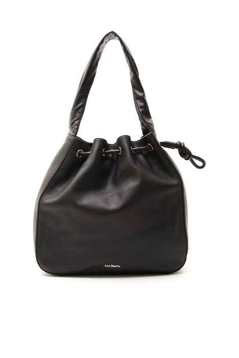 Shoulder bag in leather Diffusione Tessile