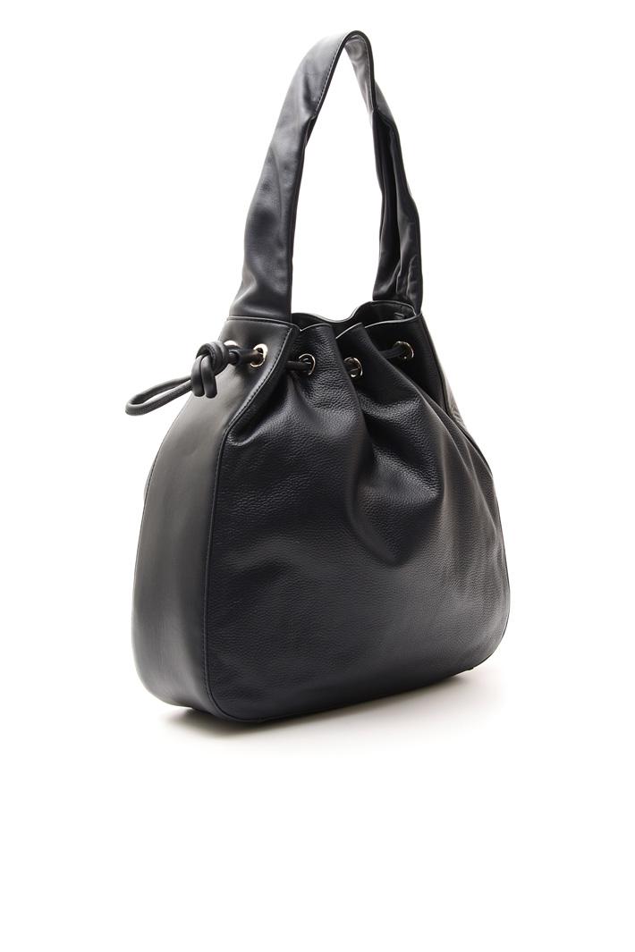 Shoulder bag in leather Intrend
