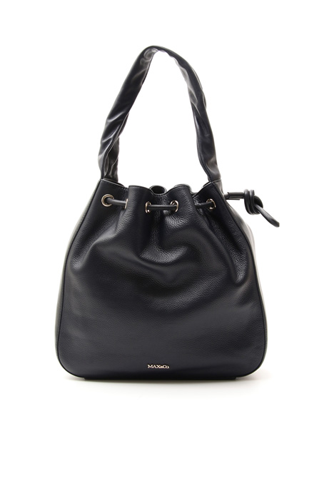 Shoulder bag in leather Intrend