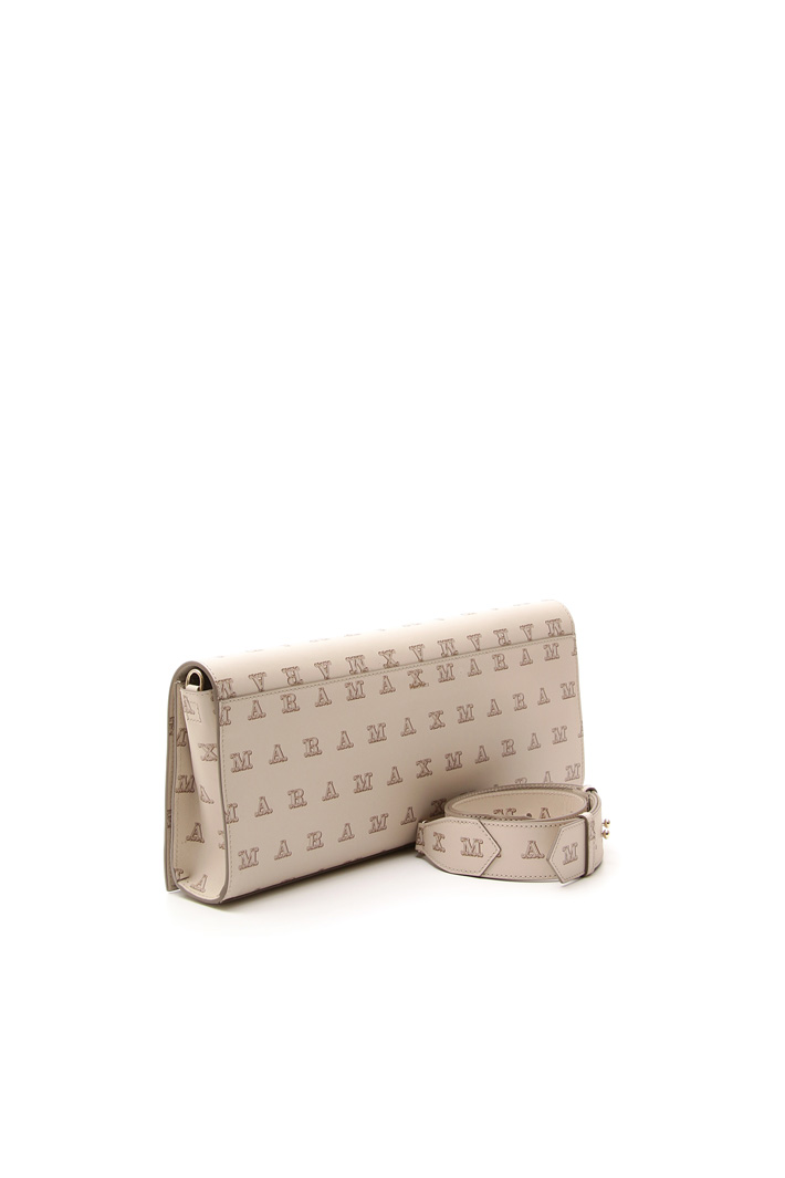 Long pochette in leather Diffusione Tessile