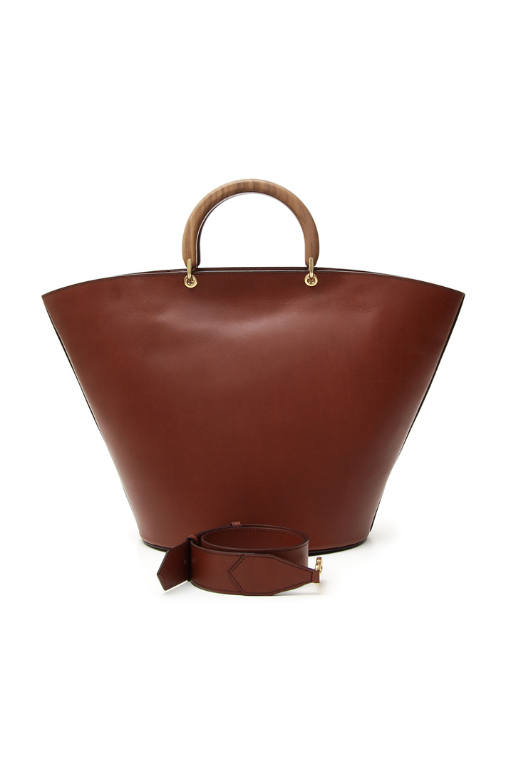 Leather hand bag Diffusione Tessile