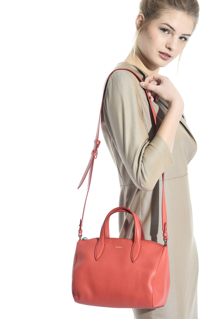 Leather crossbody bag Diffusione Tessile