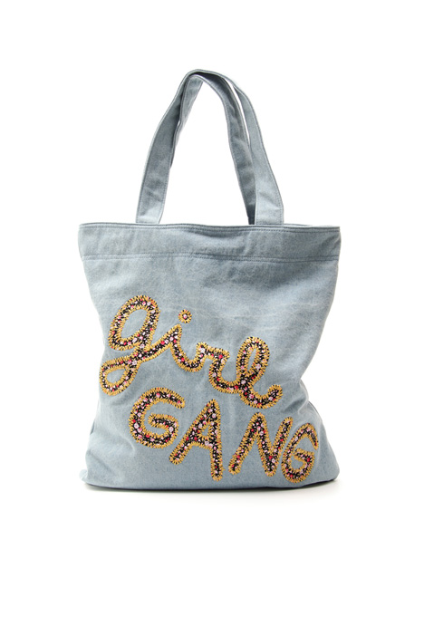 Denim shopper bag Intrend