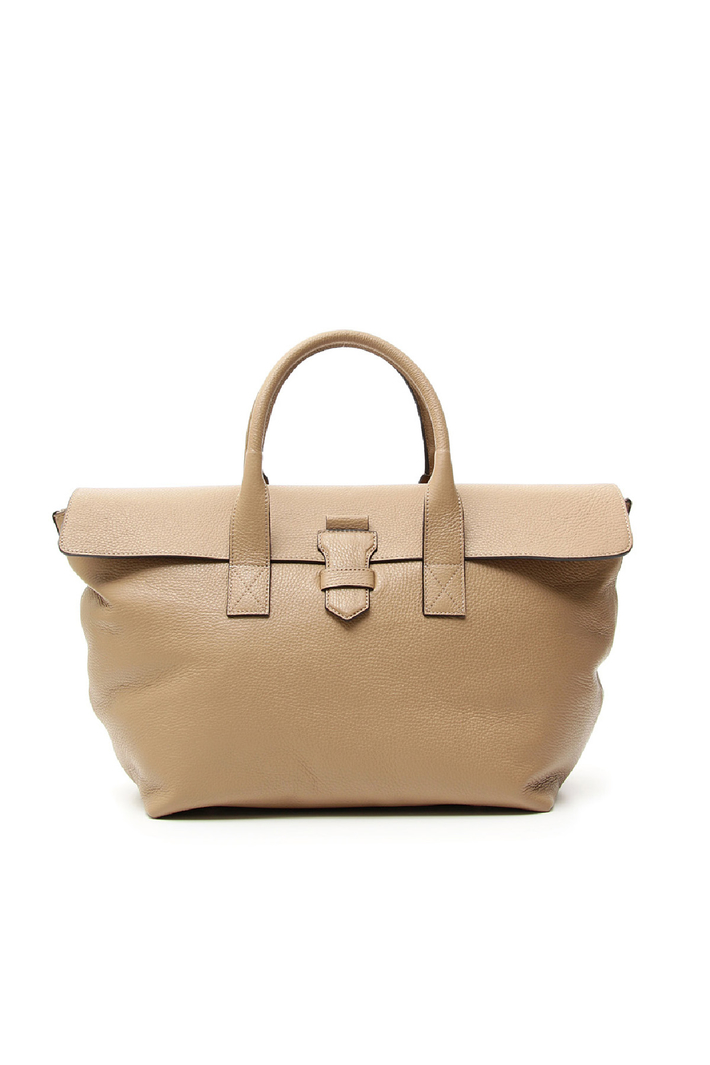 Maxi leather handbag  Intrend
