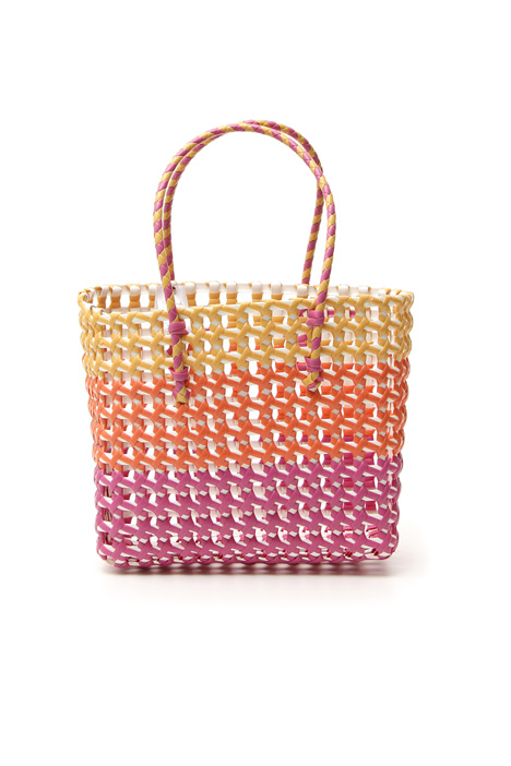 Shopper in plastica colorata Intrend