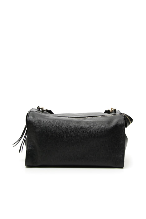 Leather shoulder bag Diffusione Tessile