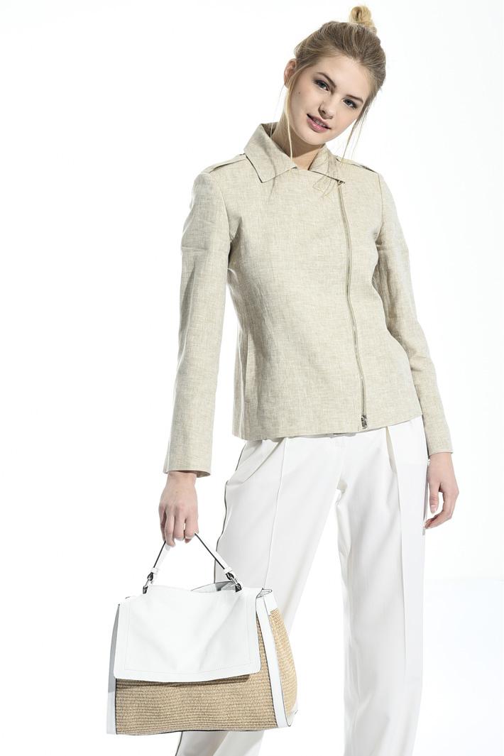 Raffia handbag Diffusione Tessile