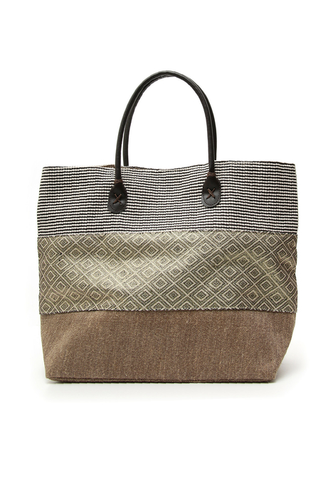Shopping bag in tessuto fantasia Intrend