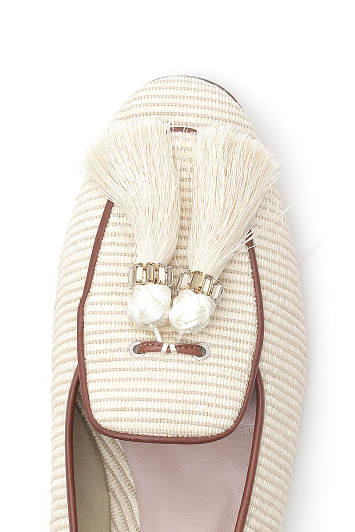 Moccasin with tassels Diffusione Tessile