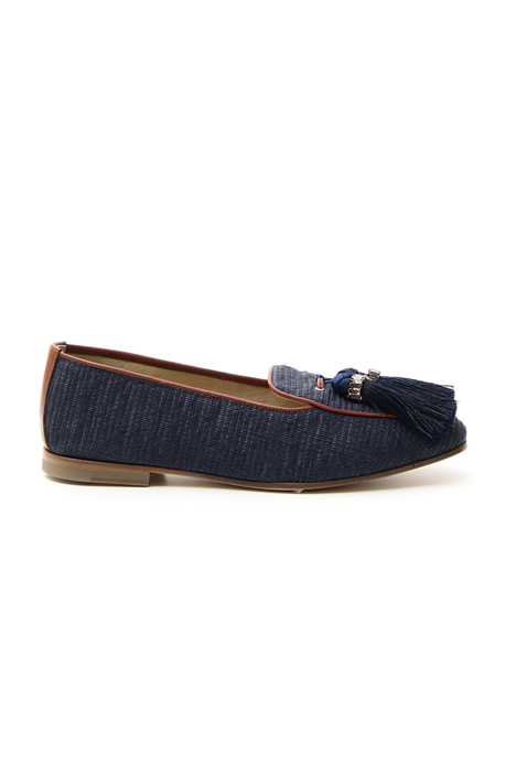 Moccasin with tassels Intrend