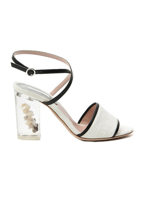 Transparent heel sandals Intrend