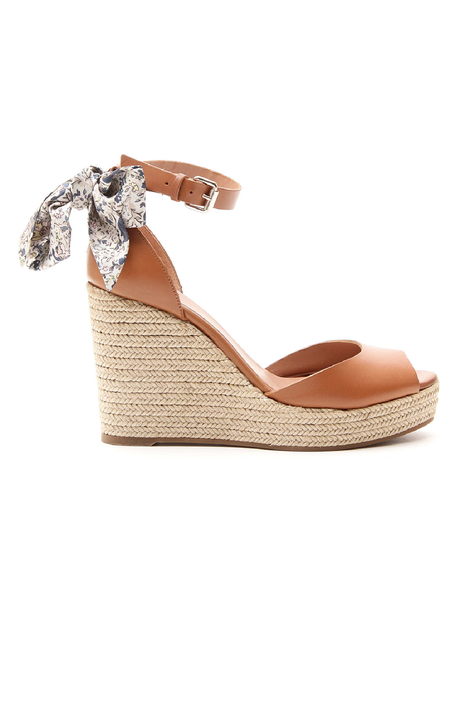 Sandals with wedge Diffusione Tessile