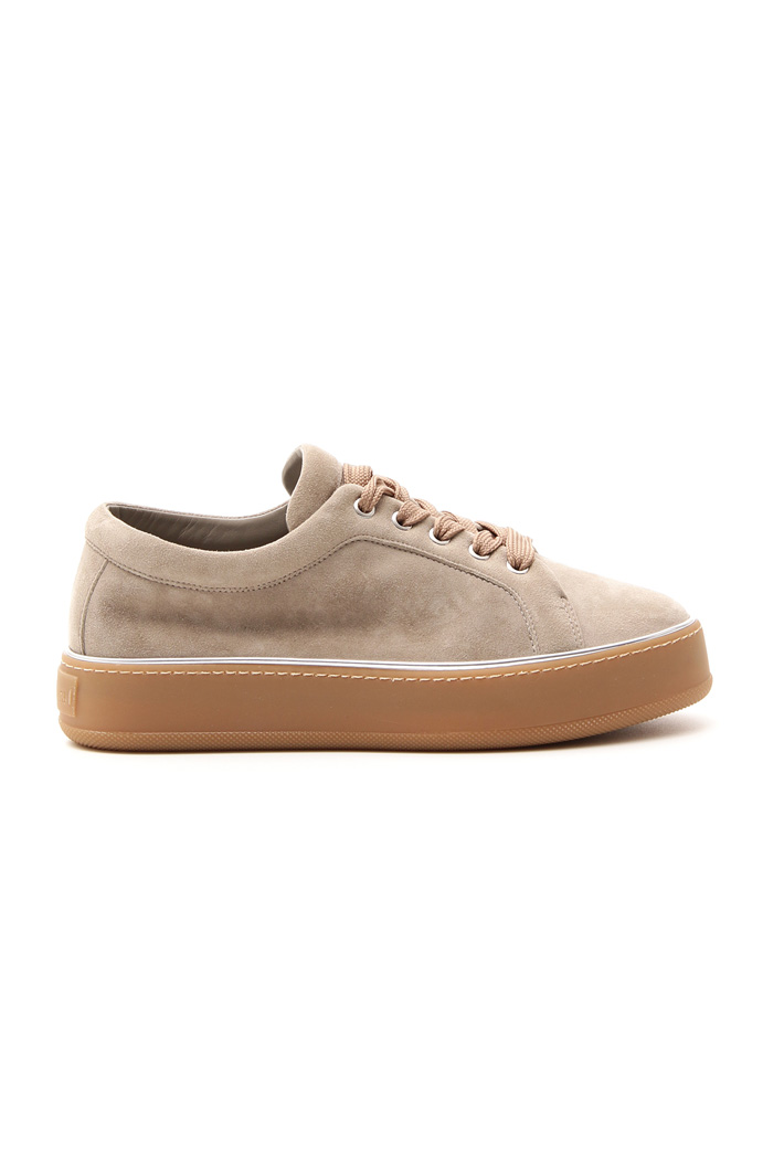 Sneakers in pelle scamosciata Intrend