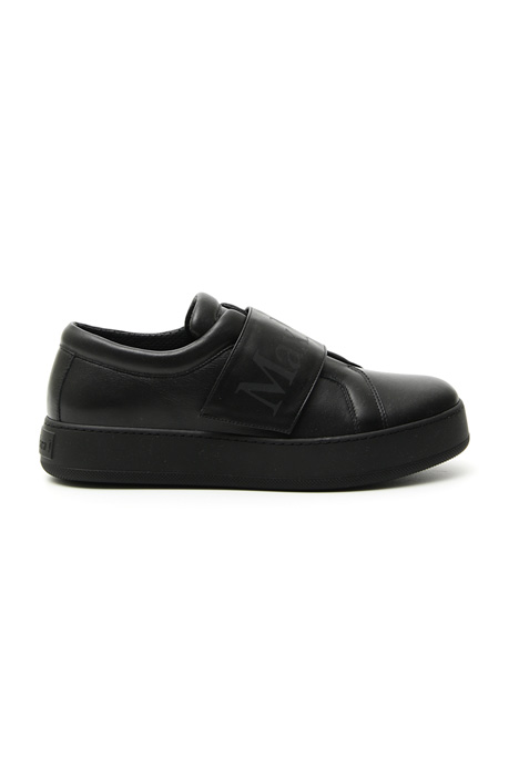 Sneakers in pelle semi lucida Intrend