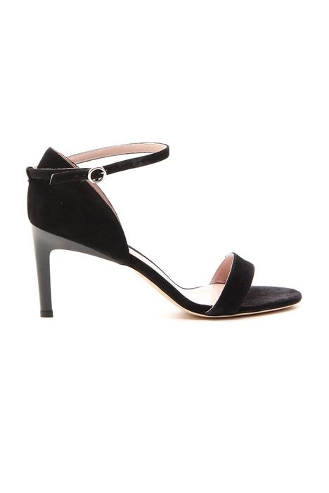 Sandalo in pelle scamosciata Diffusione Tessile