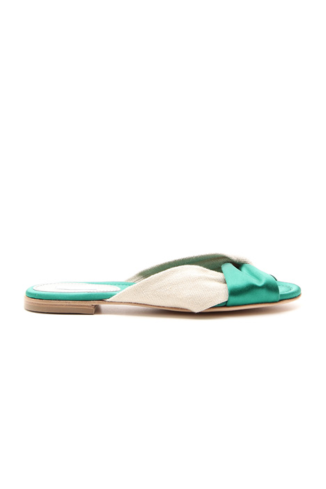 Cross flat sandals Diffusione Tessile