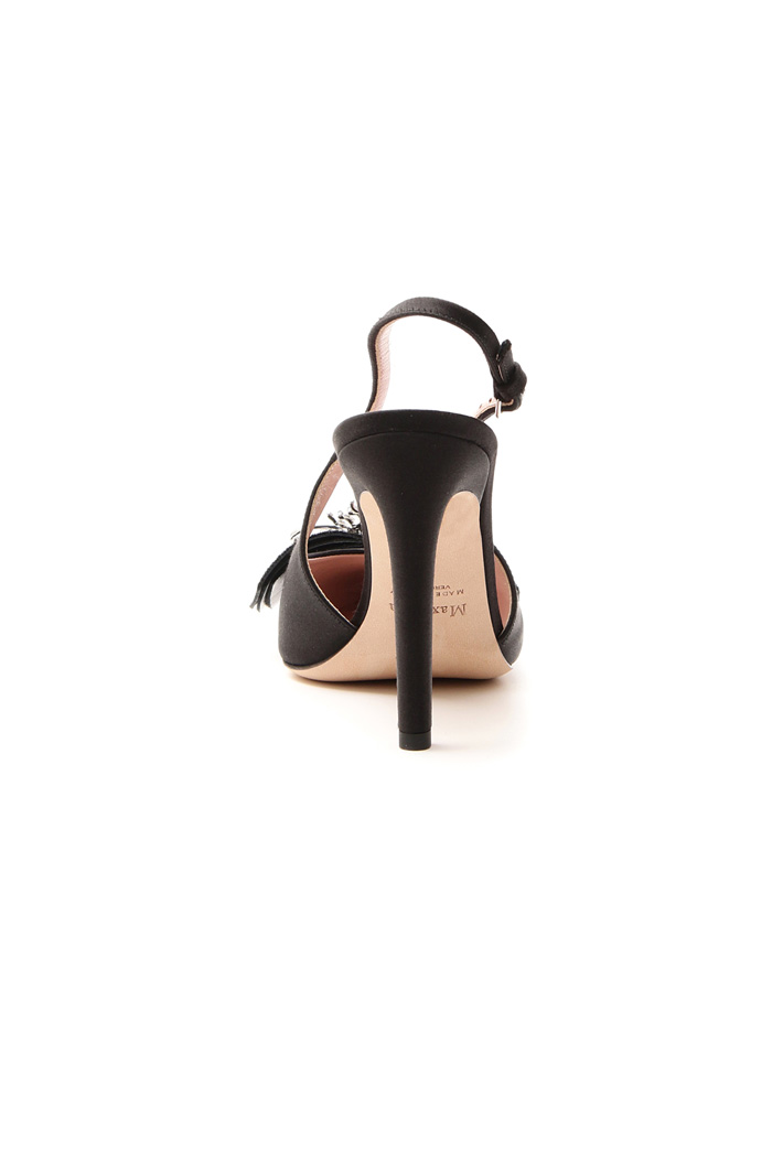 Satin sling back Intrend