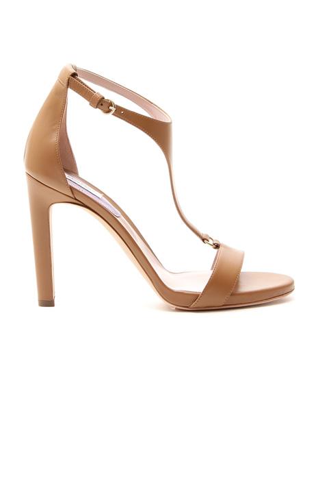 Sandalo in vera pelle Diffusione Tessile