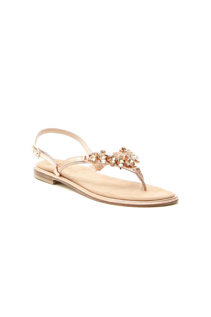 Sandalo flat gioiello Intrend