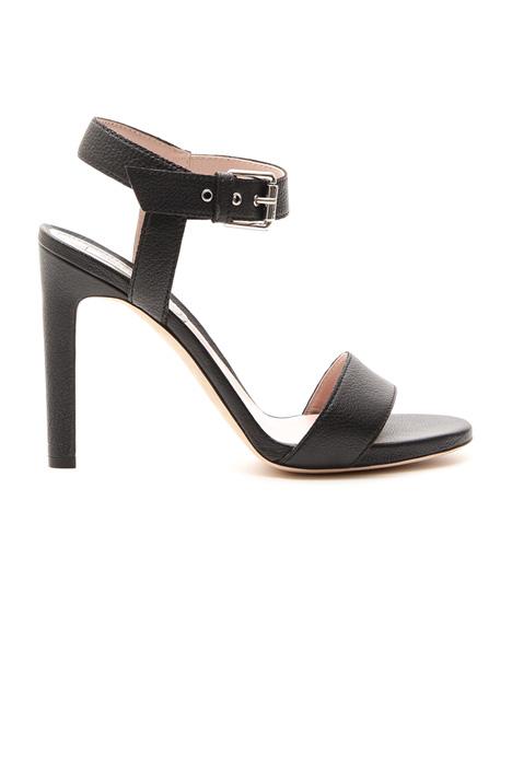 Sandalo in pelle bottalata Diffusione Tessile