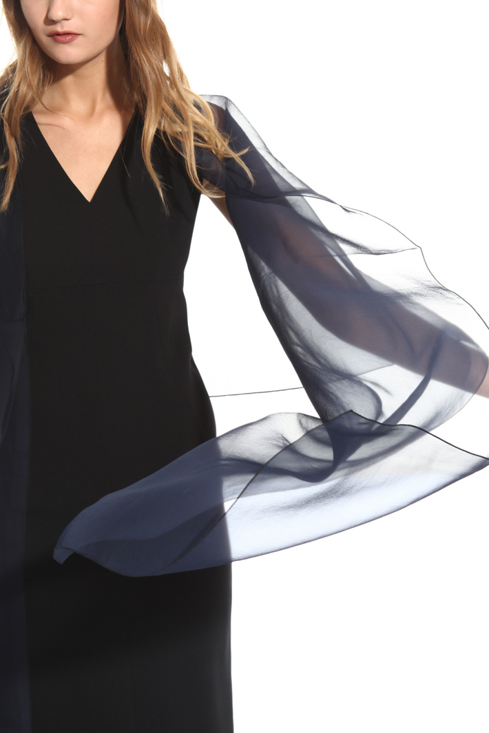 Silk organza stole Intrend