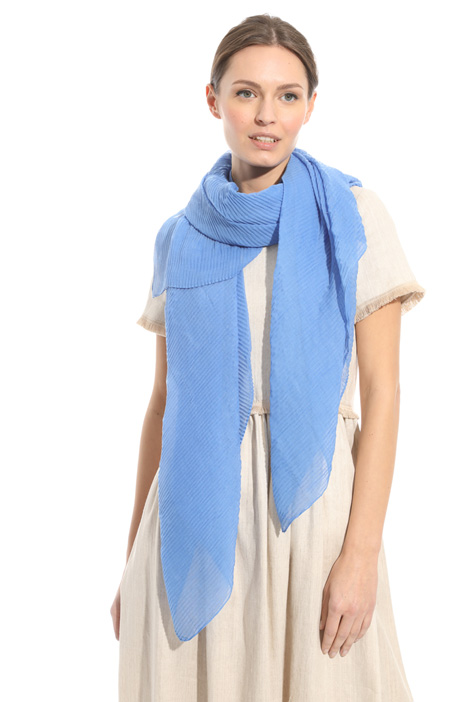 Fluid scarf in muslin Intrend